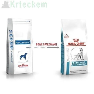 ROYAL CANIN Anallergenic AN18 8kg + Farmina Hypoallergenic 300g