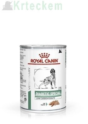 ROYAL CANIN Diabetic Special Low Carbohydrate 6x410g konzerva