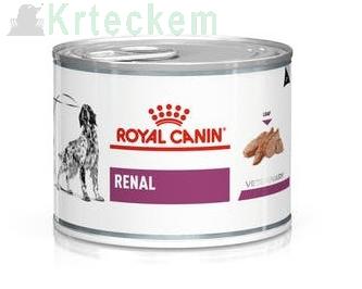 ROYAL CANIN Renal Canine 12x200g konzerva