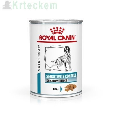 ROYAL CANIN Sensitivity Control SC 21 Chicken&Rice 6x420g konzerva