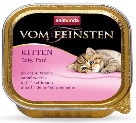 ANIMONDA Cat Vom Feinsten Kitten Baby Pate 100g