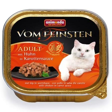 ANIMONDA Cat Vom Feinsten pro dospělé NoGrain kuře v mrkvové omáčce 100g