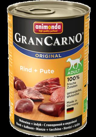 ANIMONDA GRANCARNO ADULT - HOVĚZÍ + KRŮTA 400G