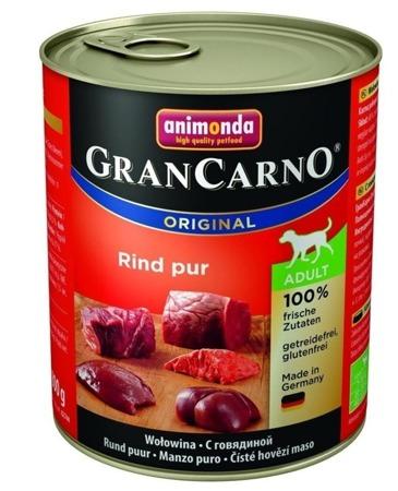 ANIMONDA GranCarno Adult Dog příchuť: Hovězí maso 800g