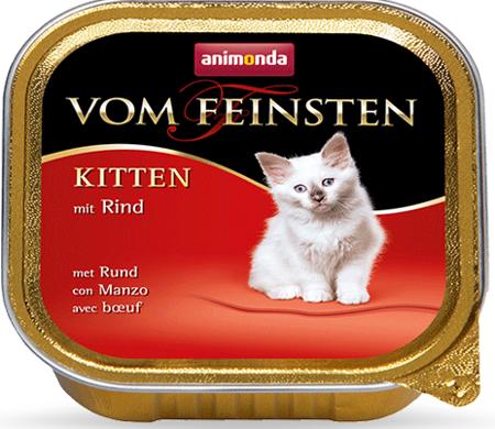 Animonda Vom Feinsten Kitten hovězí 100g