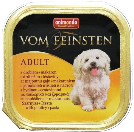 Animonda Vom Feinsten Menue paštika pro psy drůbeží+těstoviny 150g