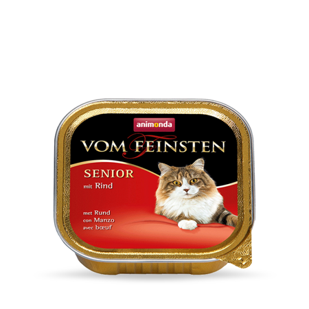 Animonda Vom Feinsten Senior Cat hovězí 100g