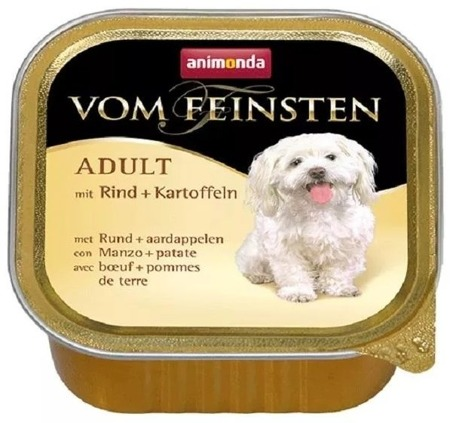 Animonda Vom Feinsten vanička hovězí/brambory 150g