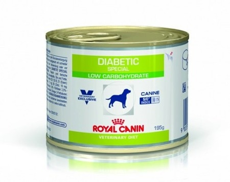 ROYAL CANIN Diabetic Special Low Carbohydrate 195g konzerva