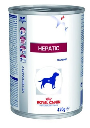 ROYAL CANIN Hepatic HF 16 420g konzerva